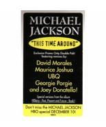 "Michael Jackson This Time Around LP Record 2x12"" 1995 Epic ES7603 & ES7604 - $88.88"