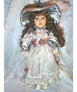 Mint Plantation Collection Victorian Porcelain Doll Handcrafted - $43.99