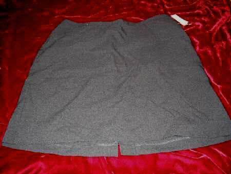 NEW NY & Cmpany City Stretch Gray Mini Skirt Sz12 Business Sexy HOT - $23.50