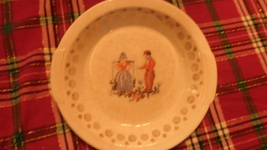 "salem china ""dutch petit point"" serving bowl - $16.00"