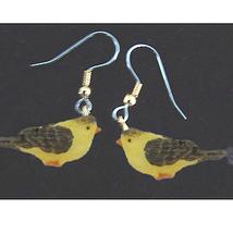 BIRD EARRINGS -Mini Realistic Spring Garden Song Charm Jewelry-J - $6.97