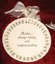 "RUSS 6"" Mother Always Loving & Understanding Grandmother My Heart Plate Decor - $27.50"