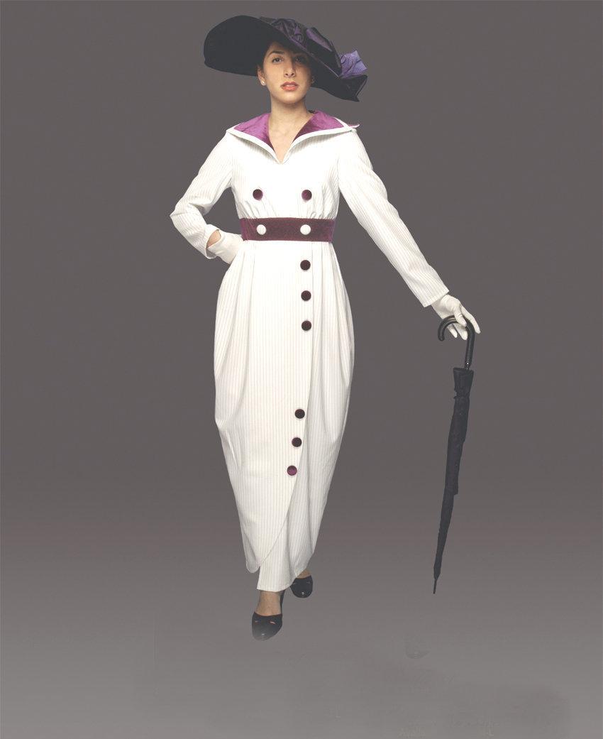 WOMEN'S QUALITY ROSE TITANIC VICTORIAN COSTUME SMALL