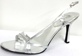 Nine West Silver Sandal size 10 - $29.00