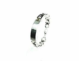 "QB10 Dalimara Stainless Steel 'Our Father' Prayer Quantum Energy Bracelet - 10"" - $42.95"