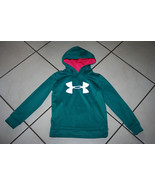 Under Armour Storm Hoodie YSM Long Sleeve Hooded Pull Over Jacket Youth Small - $12.99