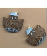 Noahs 20ark resin earrings thumbtall