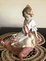 Lladro ~ Fallas Queen # 5869   ~ Retired ~ RARE ~ Mint condition. - $450.00