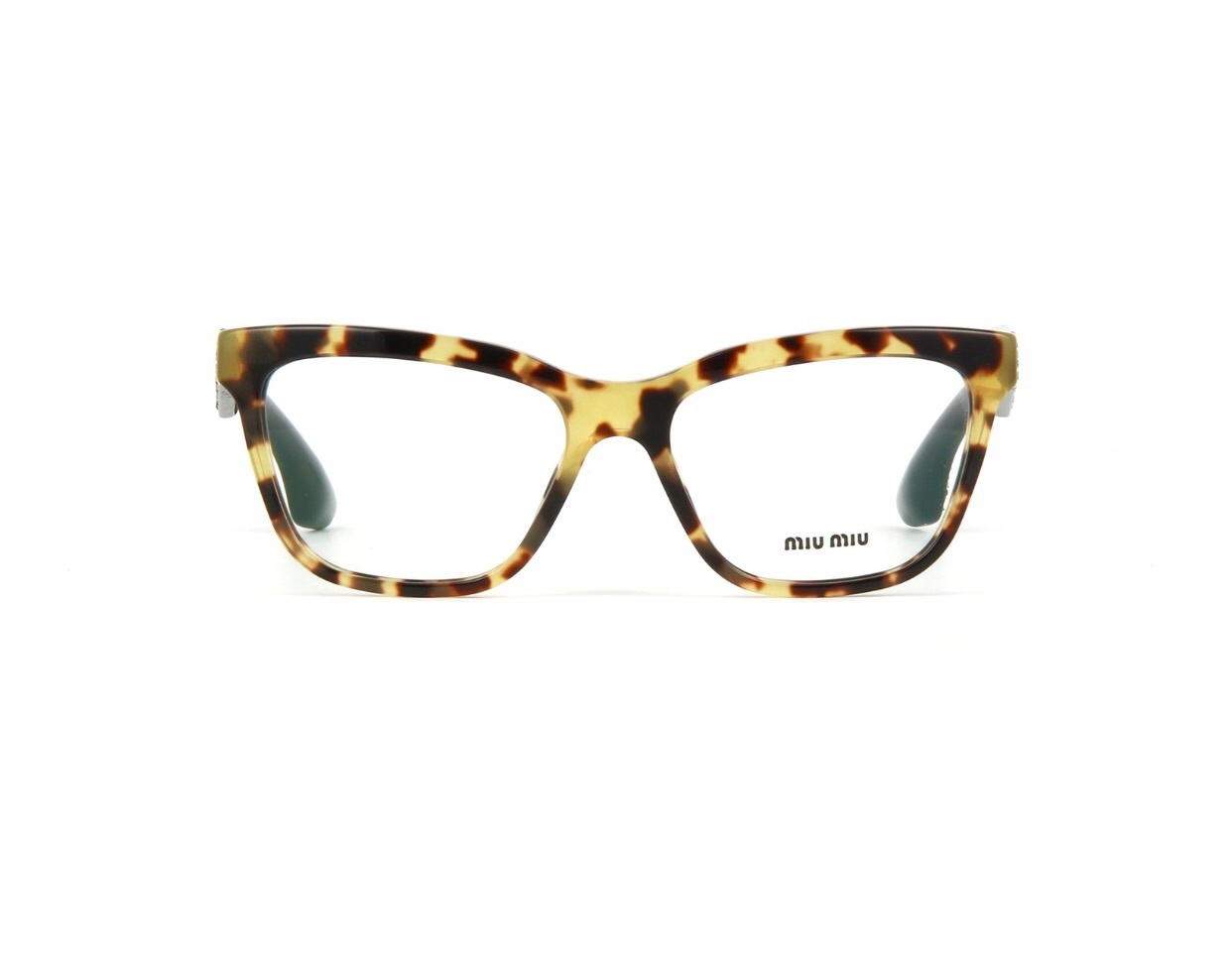 589250bf0ca7 New Authentic MIU MIU MU07NV 7S01O1 Tortoise Eyeglass VMU 07N MU 07NV 53mm