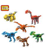 6 pcs LOZ Mini Dinosaur Building Blocks - $17.95