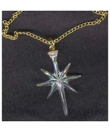 Christmas NORTH STAR Pendant Necklace-Astronomy Charm Jewelry - $4.97