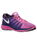 Women's Nike Flyknit Lunar2 Running Shoes 620658 601 - $117.59