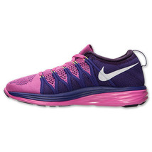 Women's Nike Flyknit Lunar2 Running Shoes 620658 601 image 4