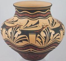 """Zuni Indian 8.5"""" x 9.5"""" Deer on a Walk Pottery ... - $1,757.25"""
