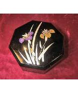 Vintage Yamanaka Japan Jewelry Case Trinket Box Floral Japan - $27.45