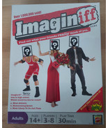 Brand New & Sealed IMAGINIFF Board Game - Mattel Ages 14+ (Imagine Iff) - $22.99