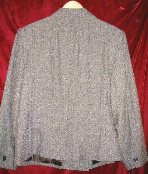 Womens Dress Barn DressBarn Brown Career Suit Jacket 14W 14 W