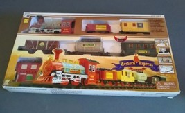 WESTERN EXPRESS TOY TRAIN SET  BATTERY OPERATED - $18.80