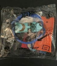 Hot Wheels Twin Mill Hoop New 2019 McDonalds Happy Meal Toy 1 Sealed Package Car - $9.85