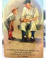 #JB163 HONUS WAGNER Pirates 1953 Brown & Bigelow TEXACO Station Baseball... - $11.88