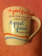 HALLMARK--COFFEE MUG / CUP---GOOD / GREAT FRIEND-----FREE SHIP--VGC - $15.39