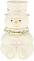 LENOX Happy Holly Days Snowman Stackable Bowls, Set of 3 - £63.63 GBP