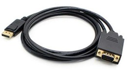 Addon-Networking DISPORT2VGAMM3B 3' DisplayPort to VGA Adapter Cable, Black - $27.01