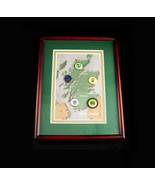 Vintage Scotland golf shadowbox frame - old style coin markers - Men's G... - $125.00