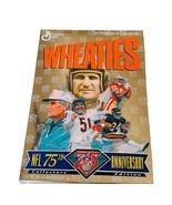 Wheaties Cereal Box NFL 75th anniversary Sealed Walter Payton Jerry Rice Butkus - $28.98