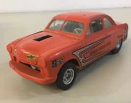 AMT '49 Ford Gasser Built Model Schrader Collision Lil Mite Moon Equipped - $49.49