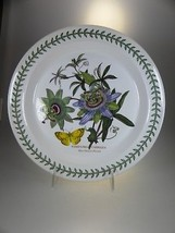 Portmeirion Botanic Garden Dinner Plate Blue Passion Flower (OLDER BACK STAMP) - $30.81
