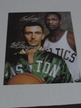 Bob Cousy and Bill Russell 11 by 14 signed photo - £367.04 GBP