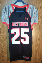 Under Armour SMU Mustangs Football Jersey #25 Mens Medium - $59.39