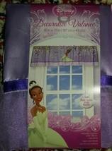 "NEW Disney Princess & Frog Tiana Decorative Valance 50"" Purple FREESHIP - $12.99"