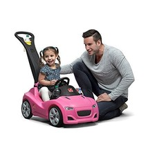 Step2 Whisper Ride Cruiser Push Car Pink 1970-Now Ride-Ons Tricycles Out... - $94.05