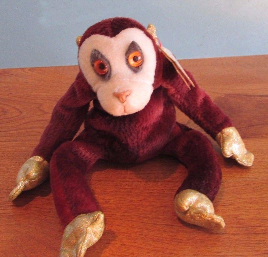 0f9ba7ddc0a Ty Beanie Babies Baby Plush Zodiac Monkey and 33 similar items. 57