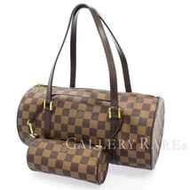 LOUIS VUITTON Papillon 30 Damier Ebene Handbag N51303 France Authentic 5... - $566.32