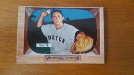 1955 Bowman Baseball Card #47 Sammy White Real Nice Card! Please see Pictures - $8.91