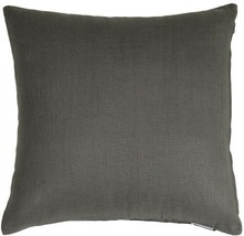 Pillow Decor - Tuscany Linen Elephant Gray 18x18 Throw Pillow - $29.95