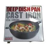 Deep Dish Hierro Fundido Pan 30.5cm Nuevo en The Box Tools Of The Trade - $76.13