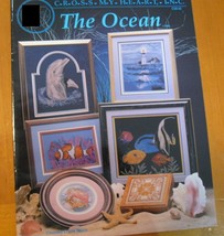 THE OCEAN  -  CROSS STITCH  LEAFLET - $8.42