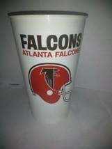 RARE Vintage NFL Atlanta Falcons Icee AND Dr. Pepper Plastic Cup Tumbler - $14.01