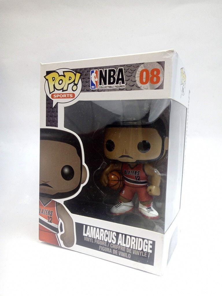 Funko POP Sports NBA Lamarcus Aldridge Vinyl Figure #08