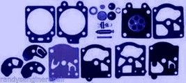 Genuine Poulan 530035161 Carburetor Repair Rebuild Overhaul Kit OEM New Walbro - $19.98