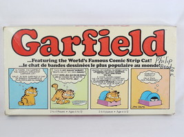 Garfield 1981 Board Game Parker Brothers 100% Complete Excellent Bilingual - $11.11