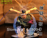 Japan Anime One Piece POP Roronoa Zoro 17CM Banpresto Action Figure Colossum