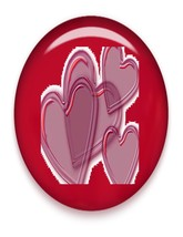 Hearts Hearts Brad Red Glass-Digital Download-ClipArt-ArtClip-Digi - $4.00