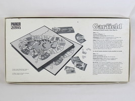 Garfield 1981 Board Game Parker Brothers 100% Complete Excellent Bilingual image 2