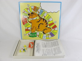 Garfield 1981 Board Game Parker Brothers 100% Complete Excellent Bilingual image 3