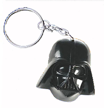 DARTH VADER KEYCHAIN-Huge Star Wars Funky Sci-Fi Villain Jewelry - $4.97